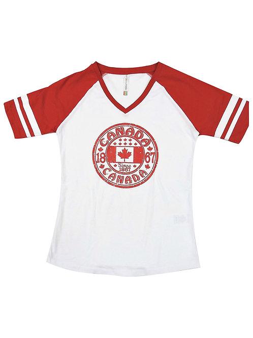0822L-Canada Red Circle