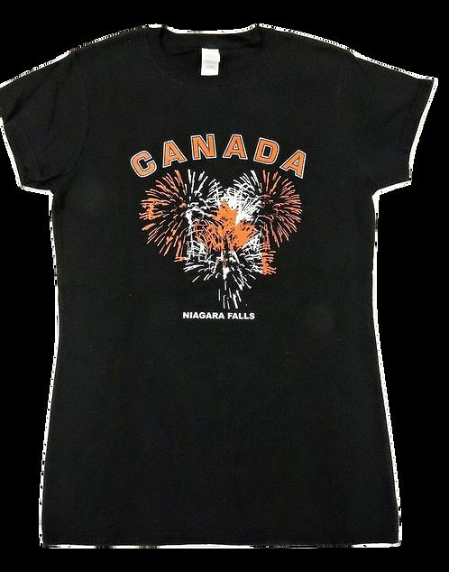5562-Canada Fireworks Heart