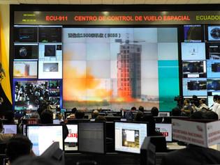 Launch of the 1st Ecuadorian satellite
