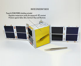 KRATOS 1U Ready-to-fly Cubesat Platform