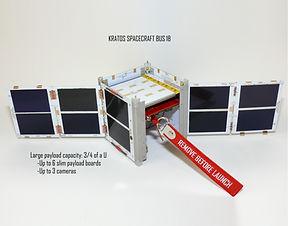 KRATOS 1U Cubesat Platform: 1-Step solution, just add your payload