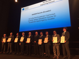 EXA's Space Operations Director being elected as permanent member at the International Academy of Astronautics