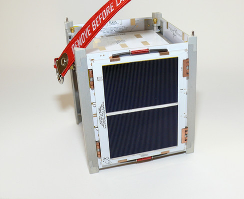 KRATOS 1B with folded solar panels