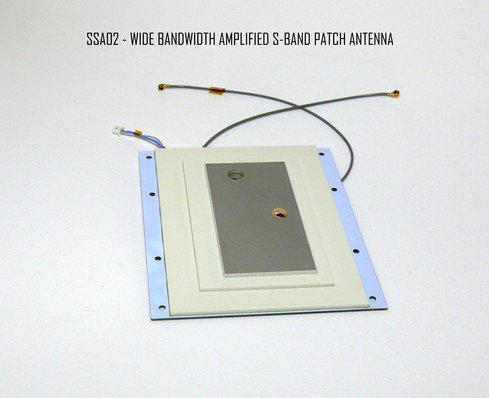 SSA02 34dB Amplified Cubesat S-band antenna