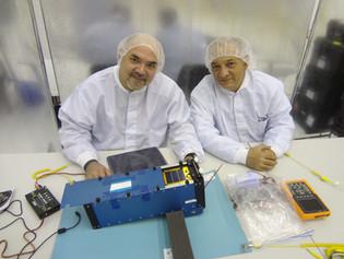 EXA engineers checking the NEE-02 KRYSAOR in the POD