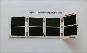 DMSA: Deployable Multifunction Solar Array with embedded antennas, magnetorquers and sensors