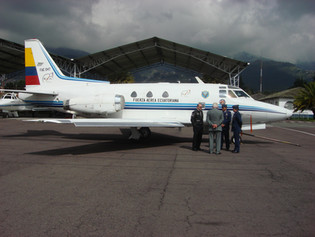 The FuerzaG-1 Condor, the first and only parabolic flight plane in latin america, by EXA