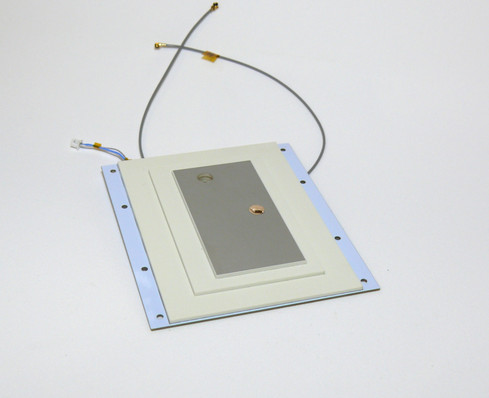 SSA02 34dB Cubesat S-band antenna with cables