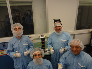 EXA engineering team while integrating the NEE-02 KRYSAOR into the POD