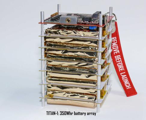 TITAN-1 350Whr High Energy Density Battery Matrix