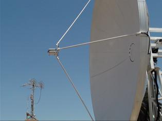 EXA antenna farm at HERMES-A ground station