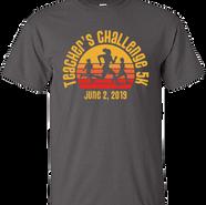 T-Shirt Design for the 2019 Teacher's Challenge 5K