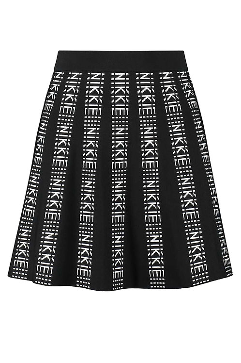 Black Nikkie Skirt