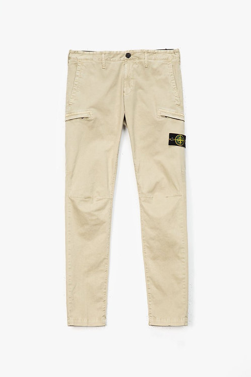 Beige Cargo Trouser