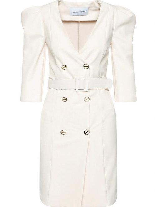 White Silvian Heach Dress