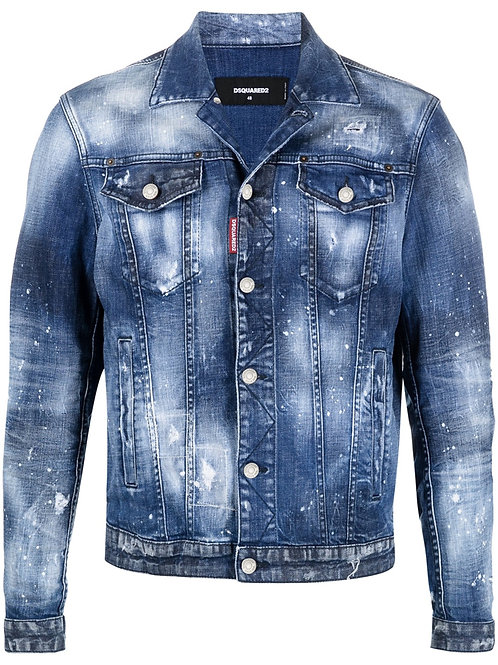 Blue Dsquared2 Jeans Jacket