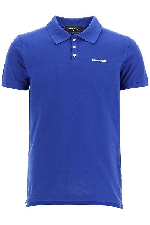 Blue Dsquared2 Polo