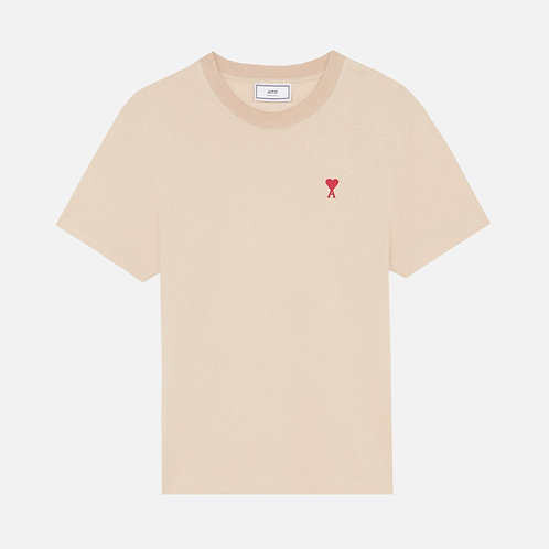Beige Ami Paris T-shirt