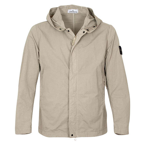 Beige Stone Island Jacket