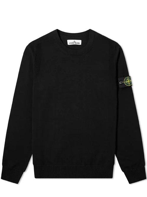 Black Stone Island Knitwear
