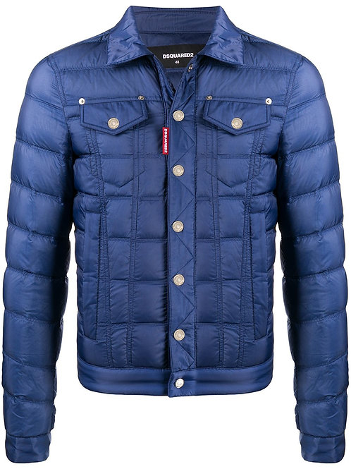 Blue Dsquared2 Jacket