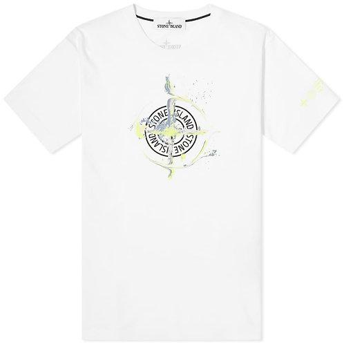 White Stone Island T-Shirt