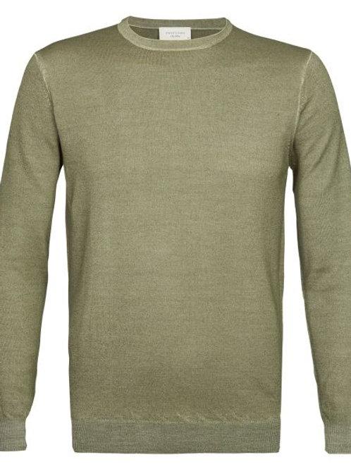 Khaki Profuomo Knitwear
