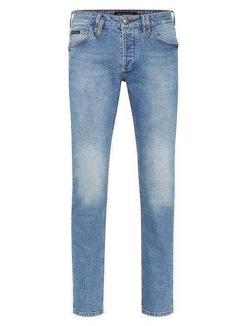 Light Blue Philipp Plein Jeans