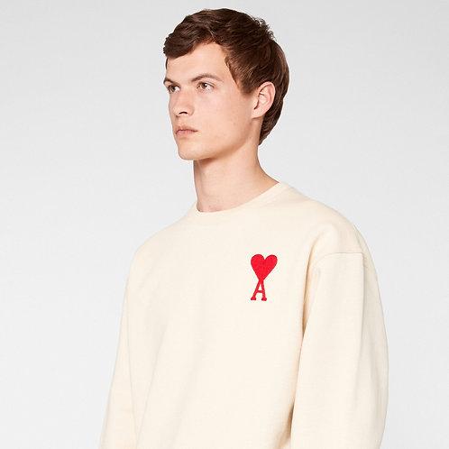 Beige Ami Paris Sweater