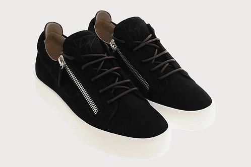 Black Suede Giuseppe Zanotti Sneakers