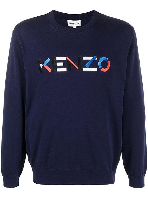 Blue Kenzo Knitwear