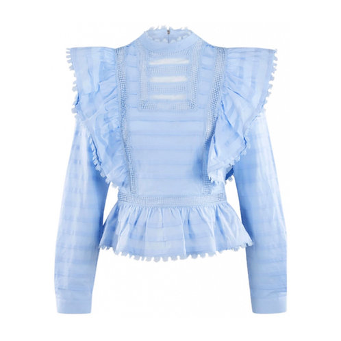 Blue Silvian Heach Blouse