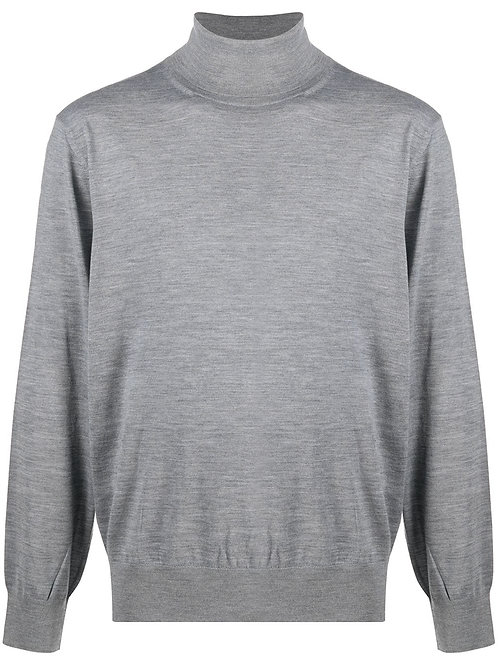 Grey Zegna Turtleneck