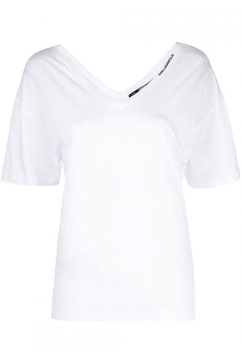 White Karl Lagerfeld T-Shirt
