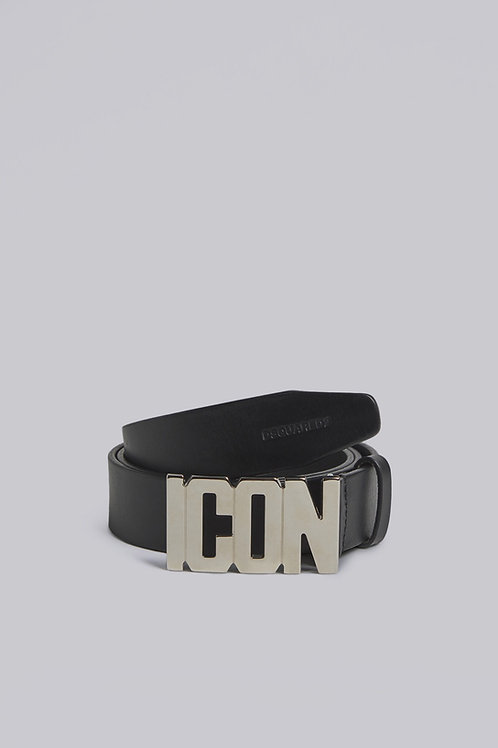 Black Dsquared2 Belt