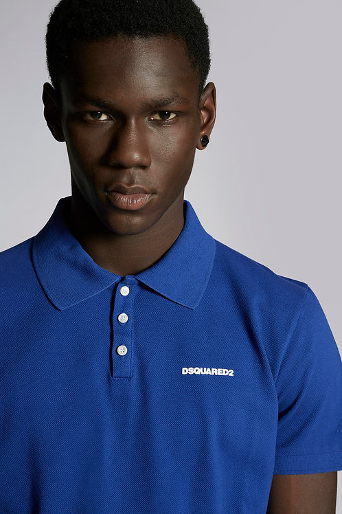 Blue Dsquared2 Polo