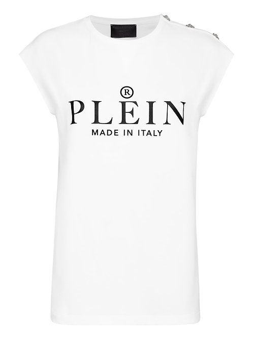 White Philipp Plein T-Shirt