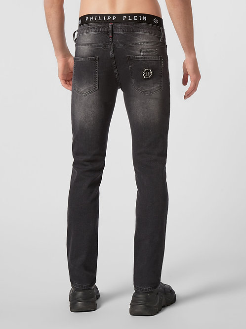 Grey Philipp Plein Jeans