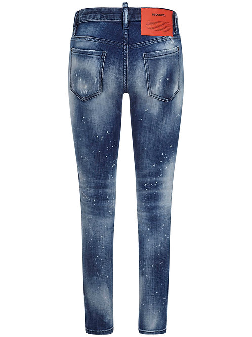 Blue Dsquared2 Girls Jeans