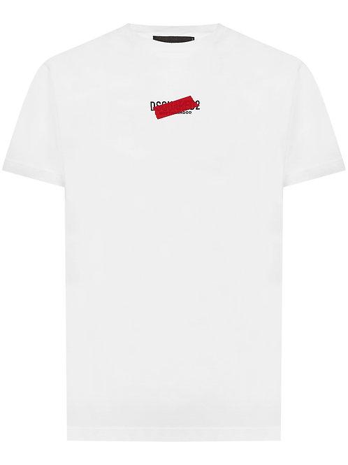 White Dsquared2 T-Shirt
