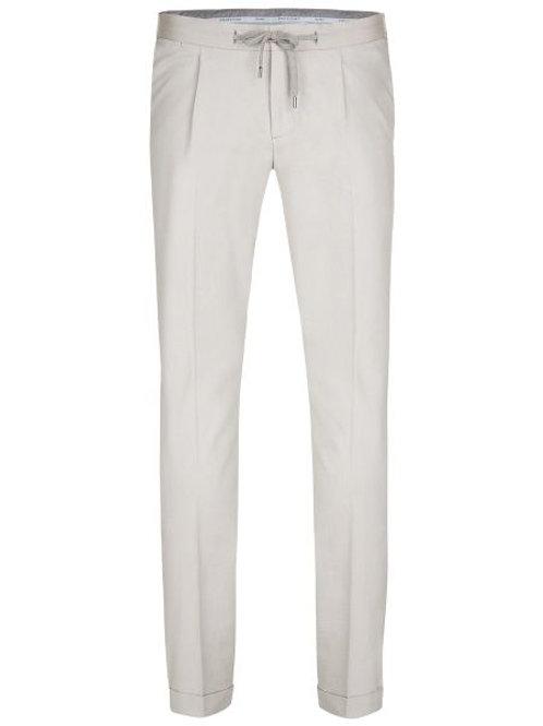 Beige Cotton Profuomo Trouser