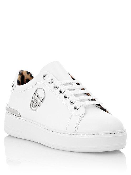 White Philipp Plein Girls Sneakers