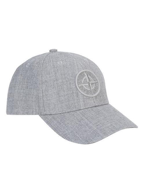 Grey Stone Island Cap