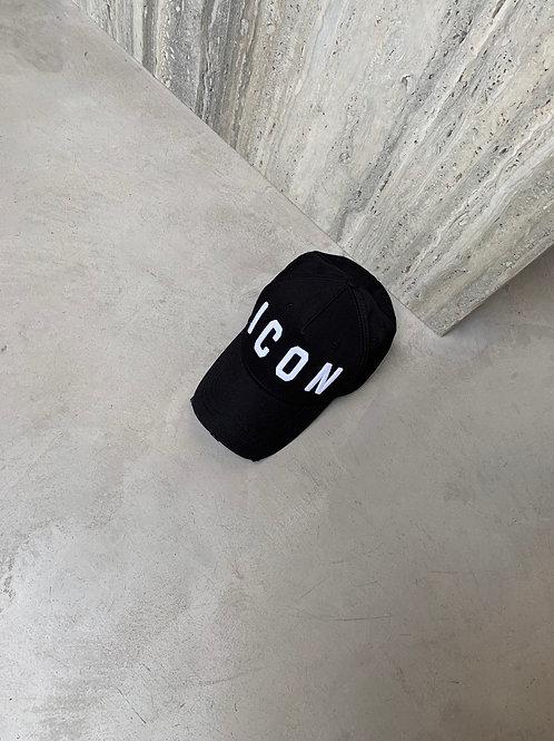 Black icon Dsquared2 Cap