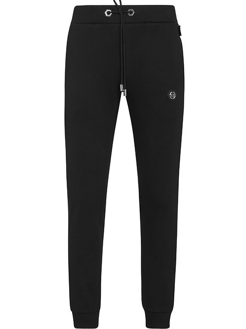 Black Philipp Plein Sweatpants