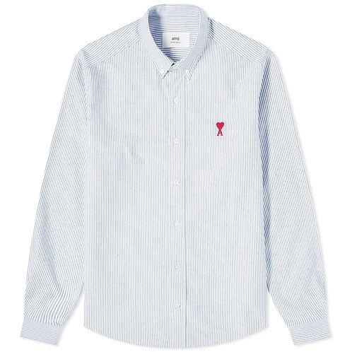 Blue Stripe Ami Paris Shirt