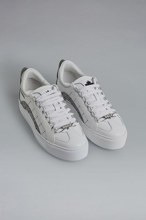 White Dsquared2 Girls Sneakers