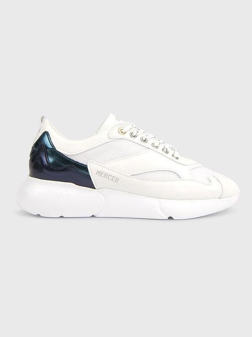 White Mercer Girls Sneakers