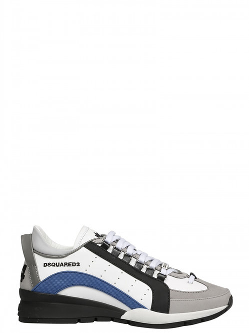 White Dsquared2 Sneakers