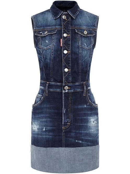Blue Dsquared2 Jeans Dress